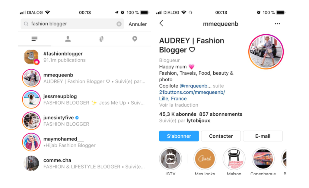 Bio Instagram, Comment optimiser sa bio sur Instagram, Entrepreneuses, The Digital Girl