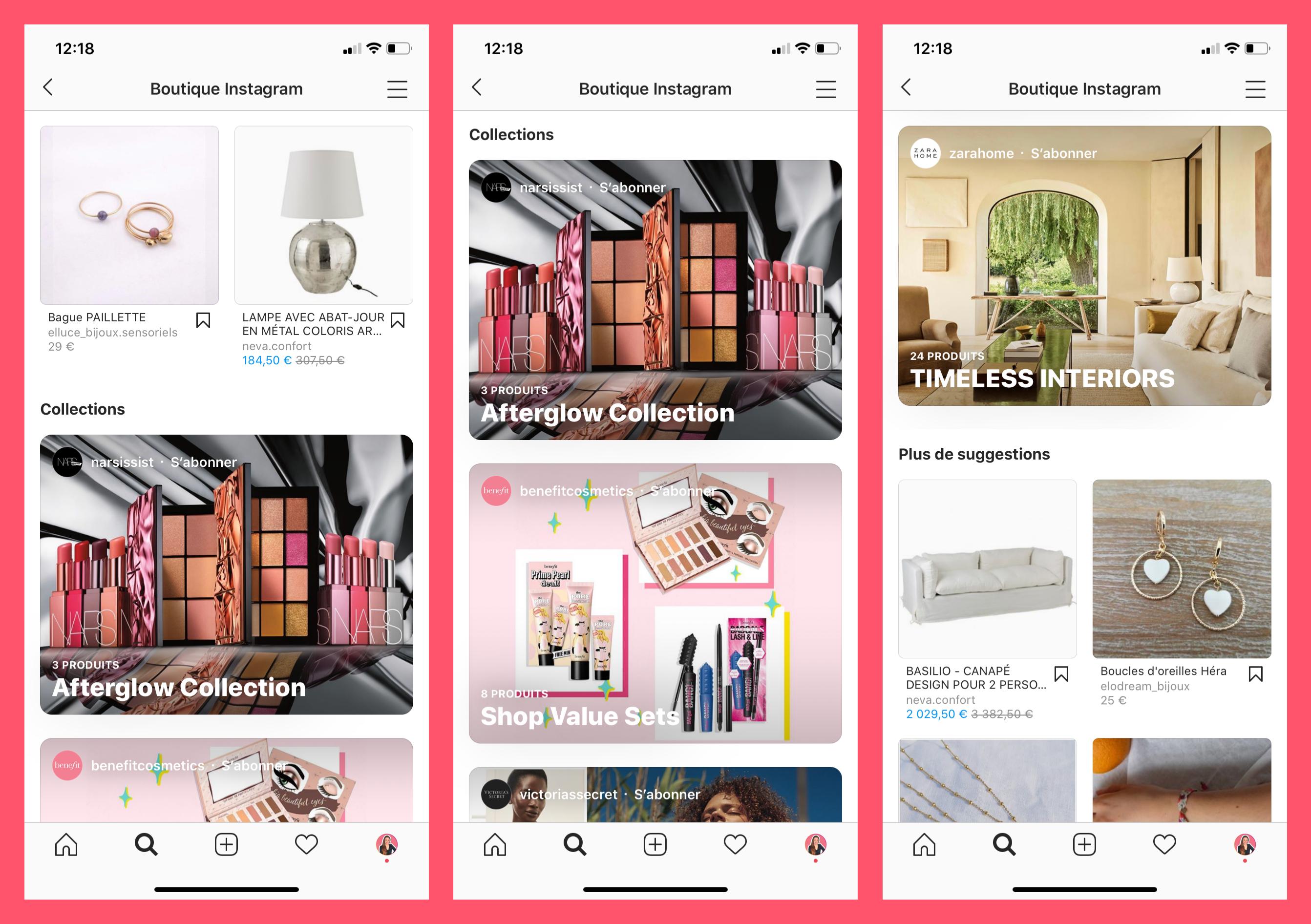 Nouveauté Instagram 2020, Instagram Boutique, Instagram Shopping
