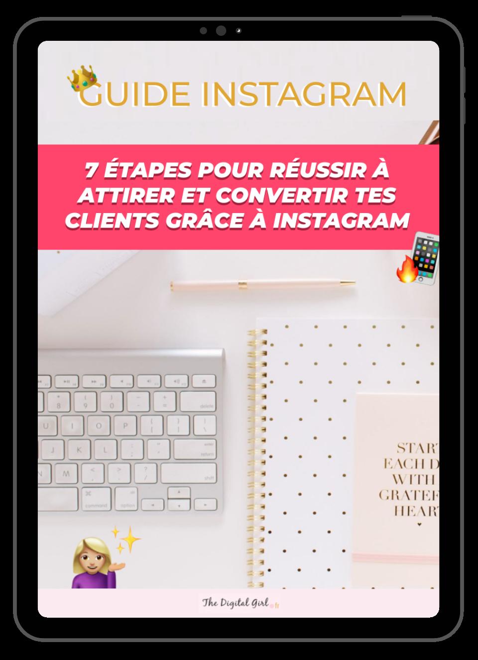 comment vendre sur Instagram, convertir ses client grâce à Instagram en 2021